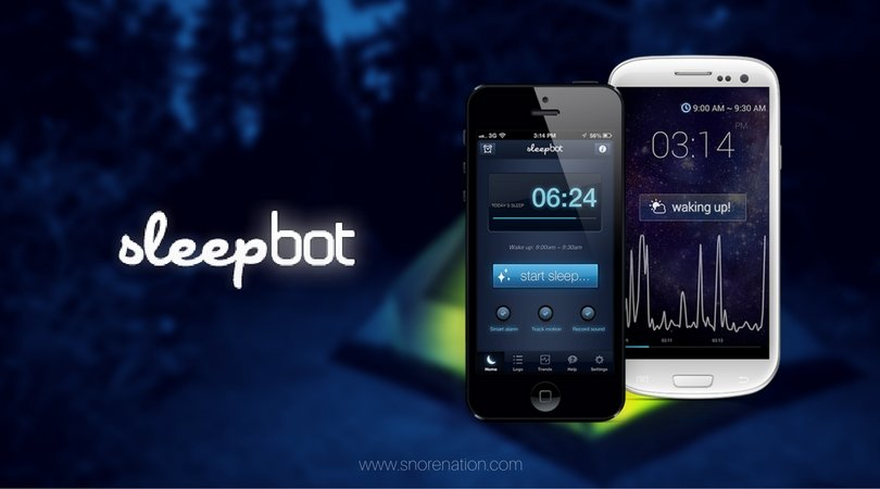 SleepBot – iPhone App
