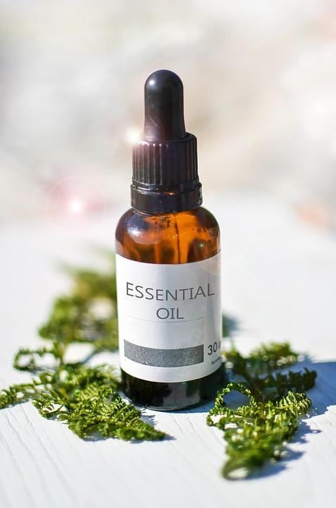 Essential Oils, Bottle, Glass, Essential Oil