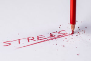 the word stress