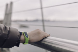wrist device tracker
